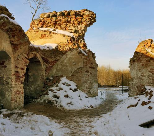Гольшанский замок в Белоруссии