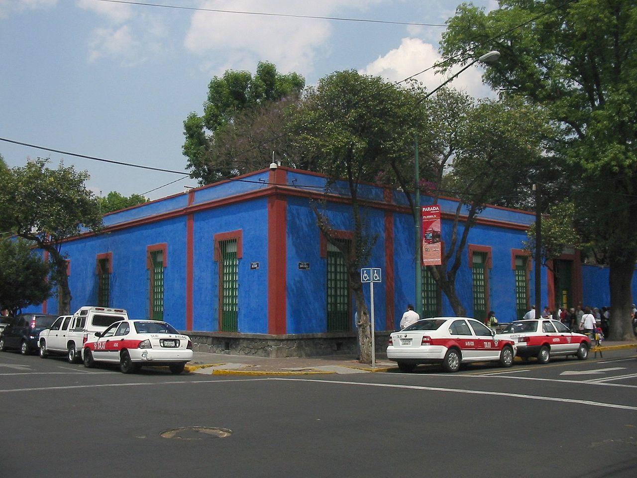 Дом-музей Фриды Кало, Мехико