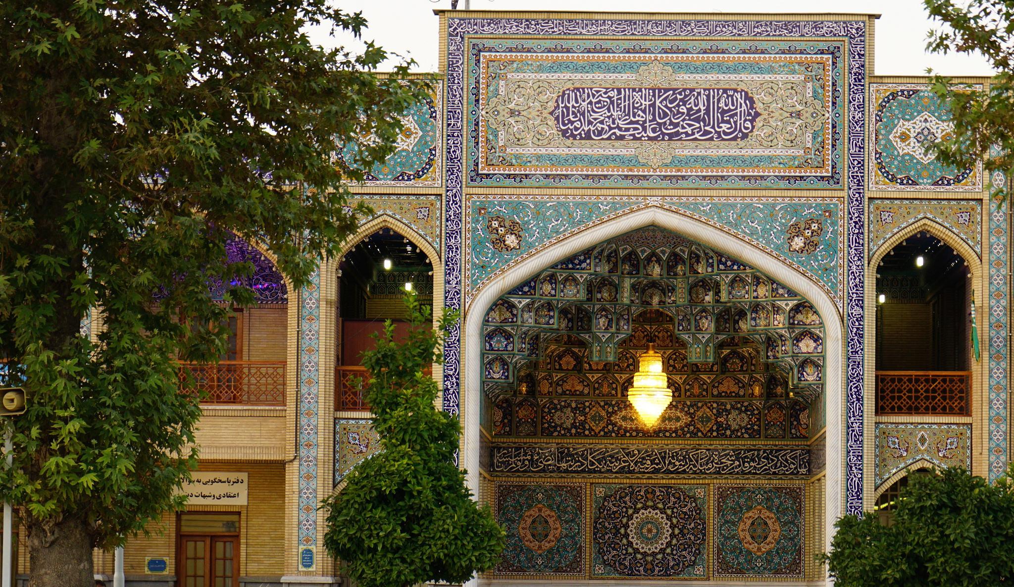 Мечеть-мавзолей Шах-Черах в Ширазе, Иран