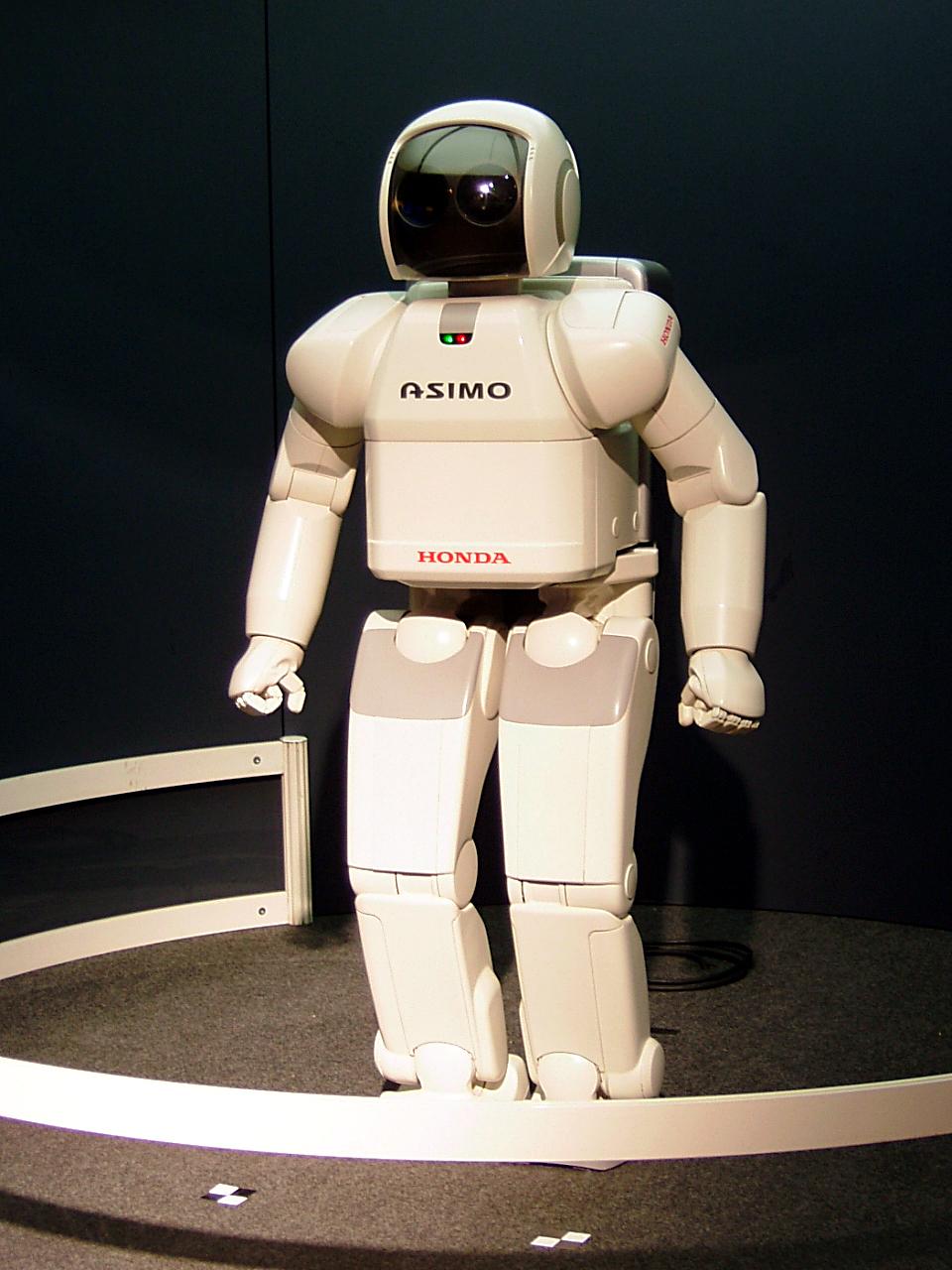 Мирайкан, робот-андроид ASIMO