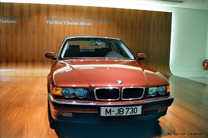 Первая BMW 7 серии, музей BMW