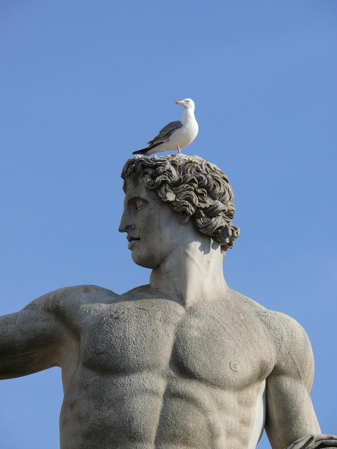 Статуя, Рим, Италия.JPG