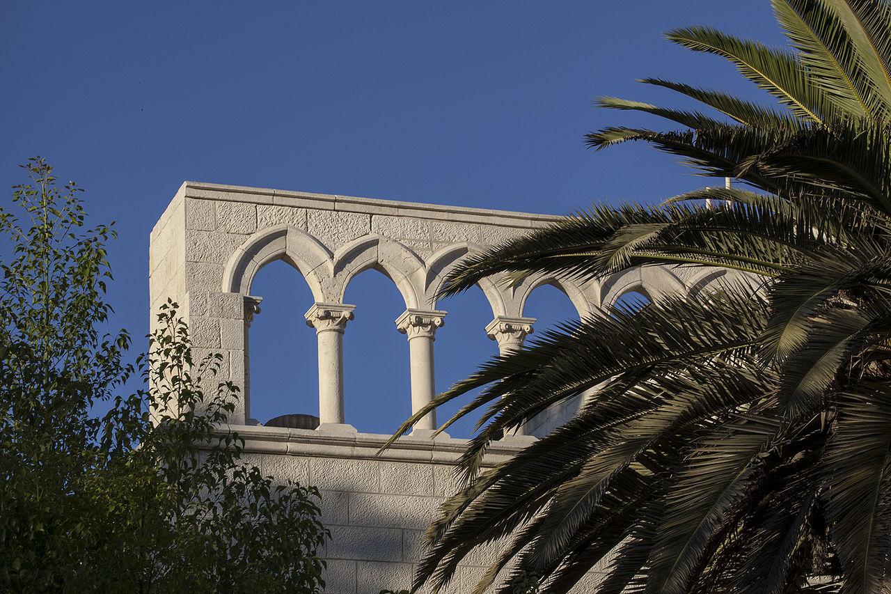 Гора Сион, монастырская арка