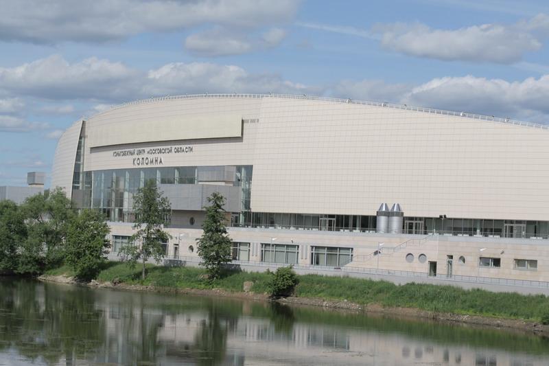 Здание конькобежного центра в Коломне