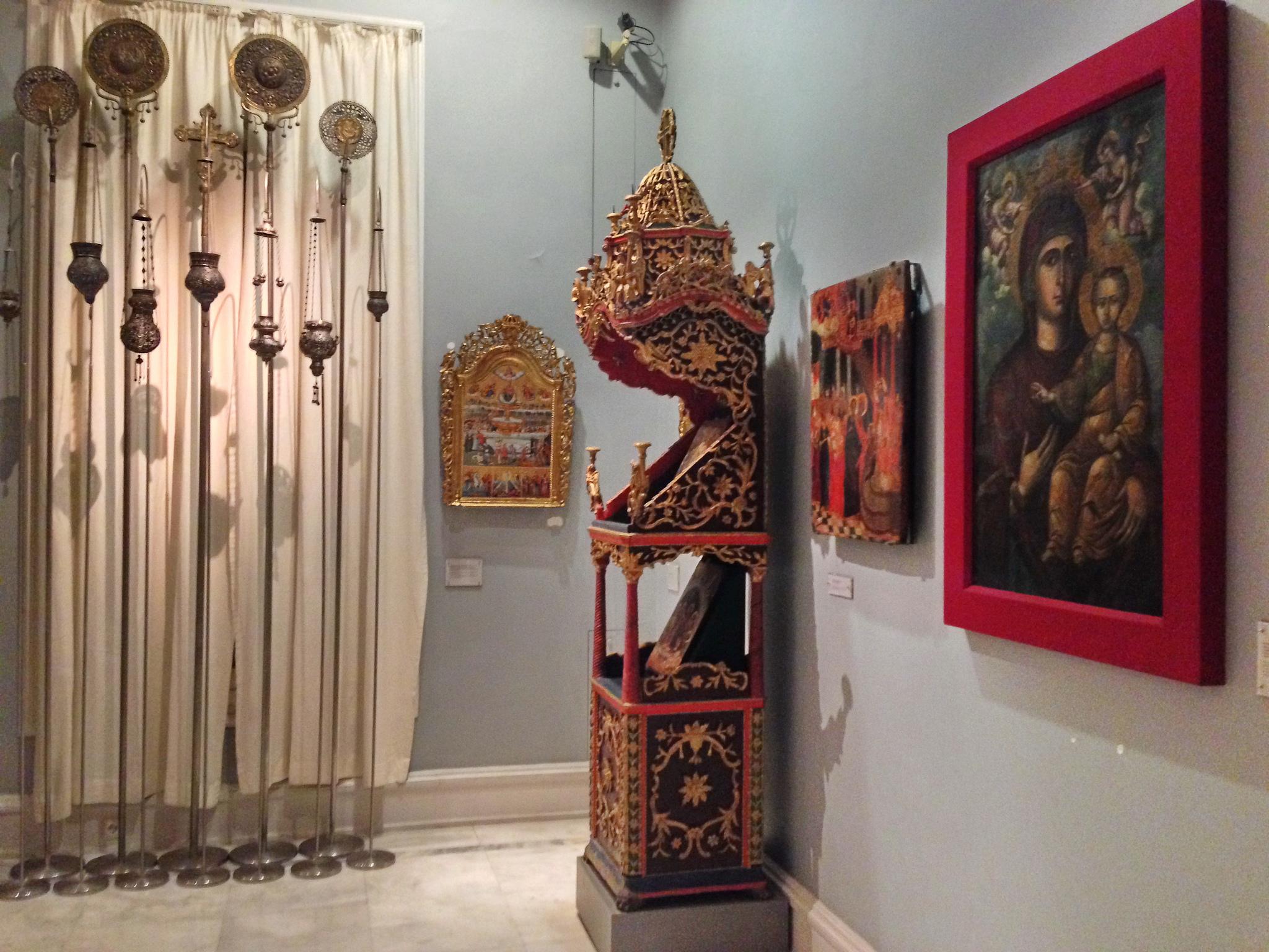 Музей Бенаки, экспонаты