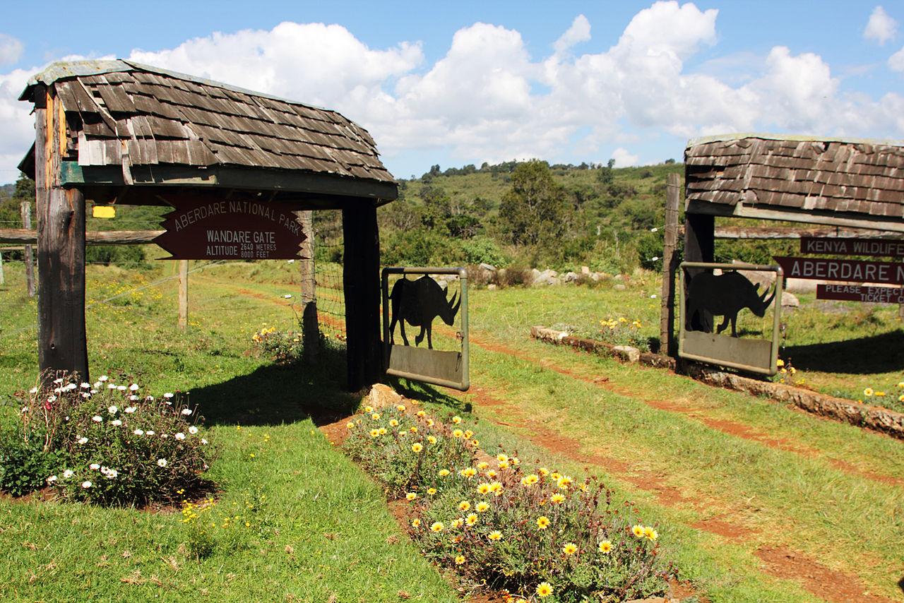 Национальный парк Абердэр, Кения