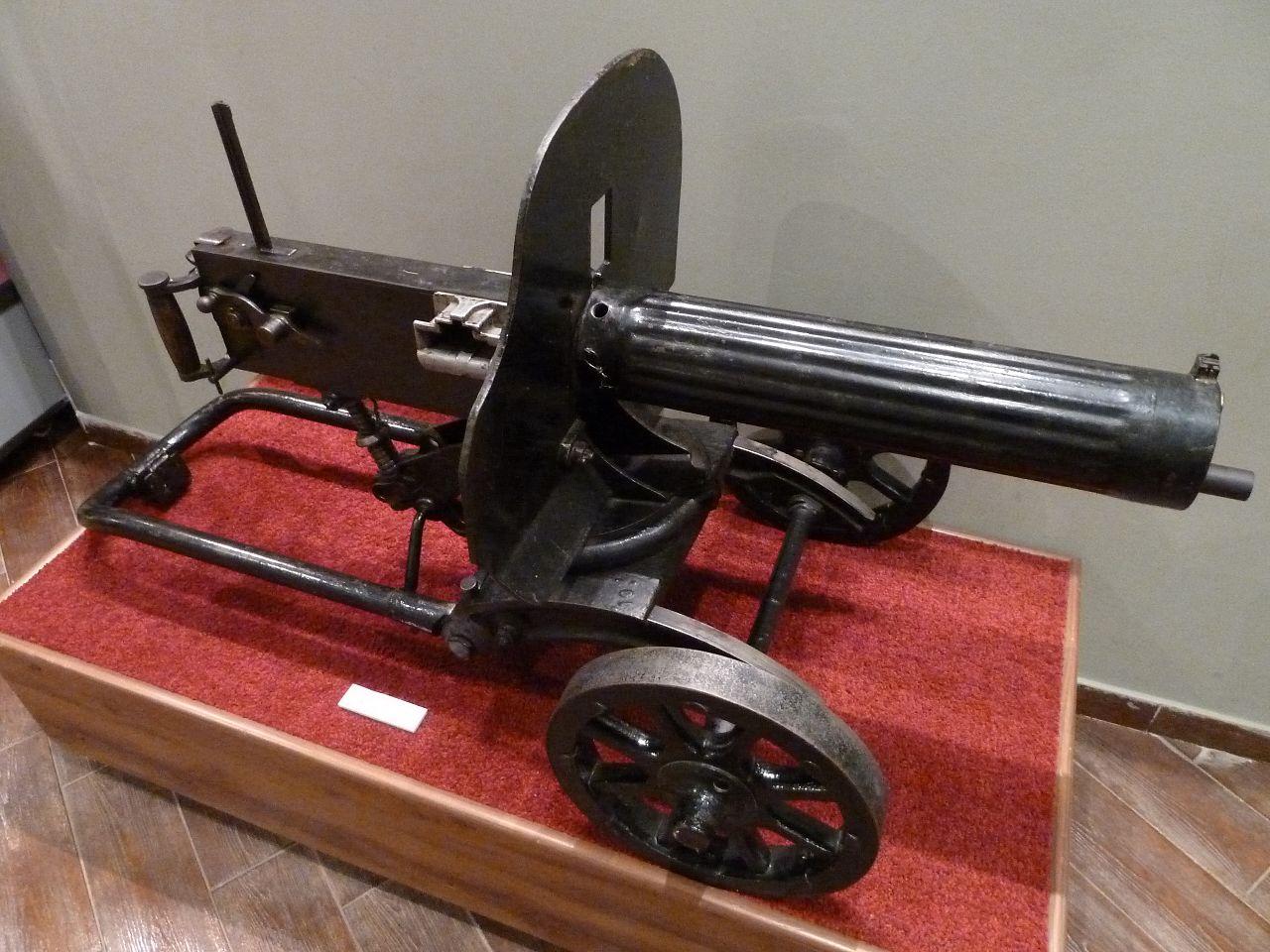 Орловский военно-исторический музей, пулемет образца 1910 года
