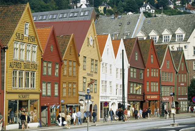 Улицы Бергена, Норвегия.jpg