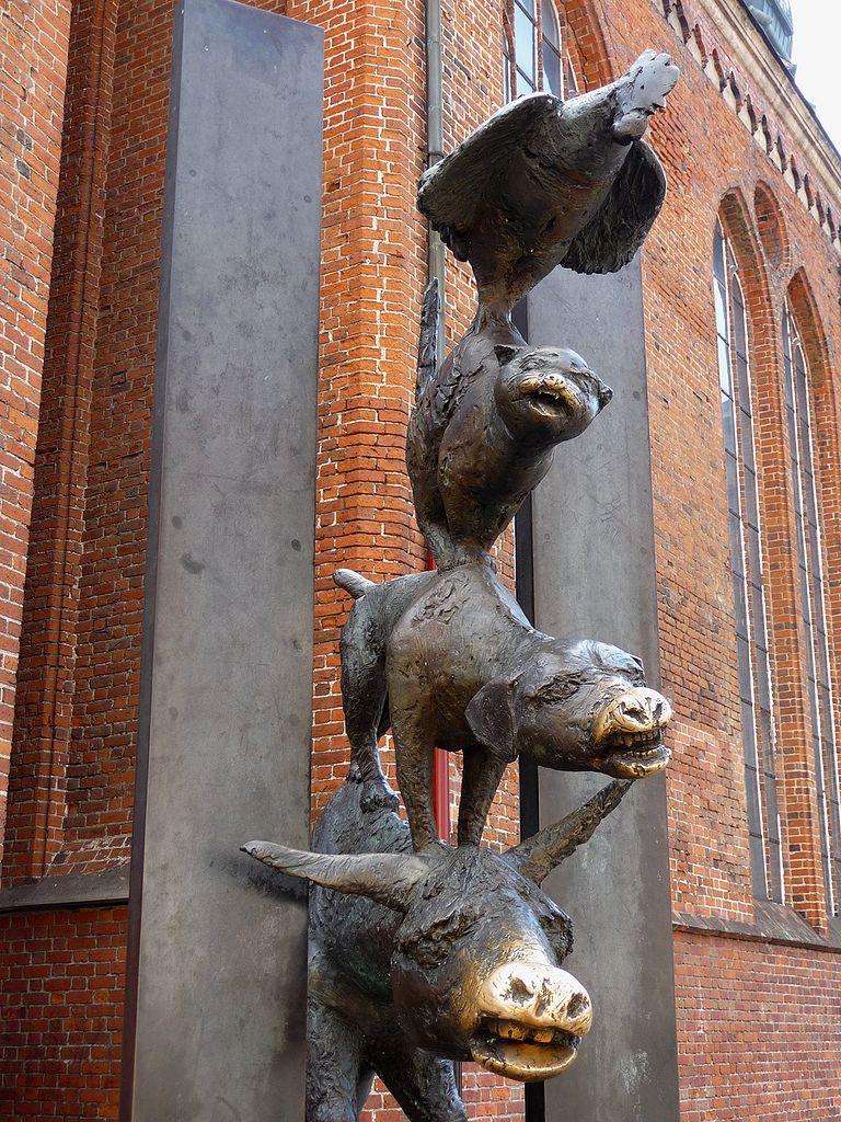 Церковь Святого Петра в Риге, Бременские музыканты