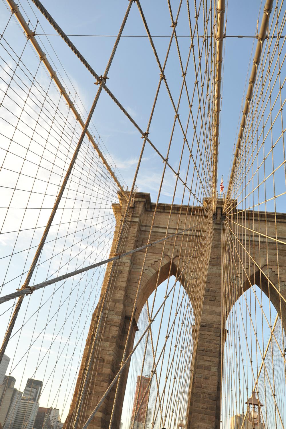 Архитектура Бруклинского моста, Нью-Йорк