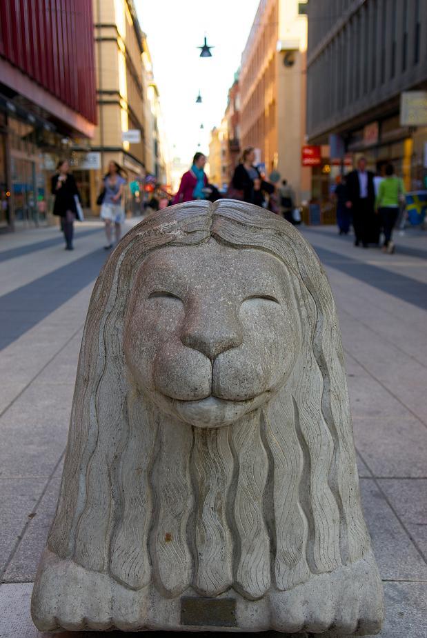 Каменный лев, Стокгольм.jpg