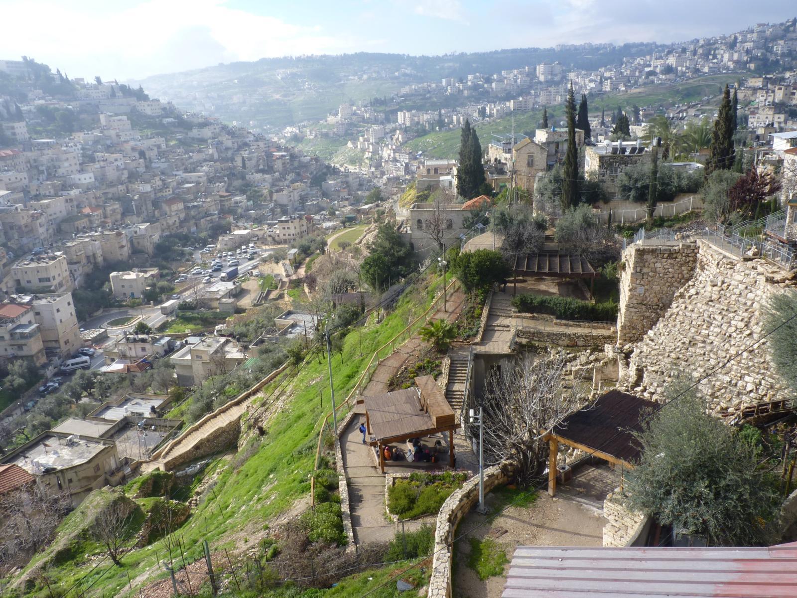 Город Давида, старейший населённый район Иерусалима