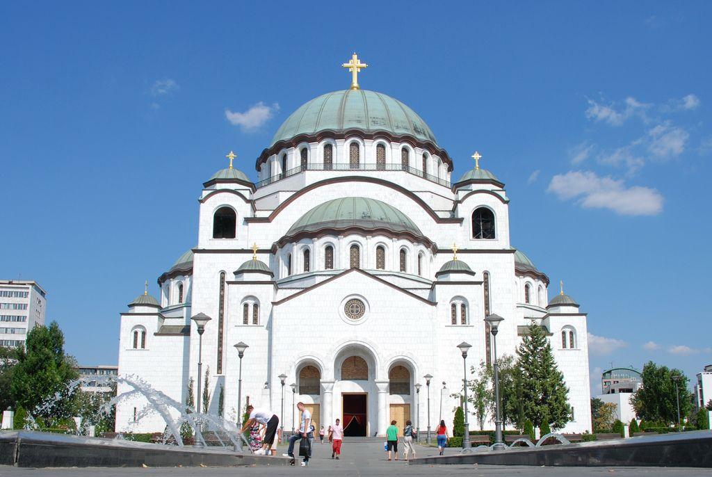Собор Святого Саввы Белград Сербия