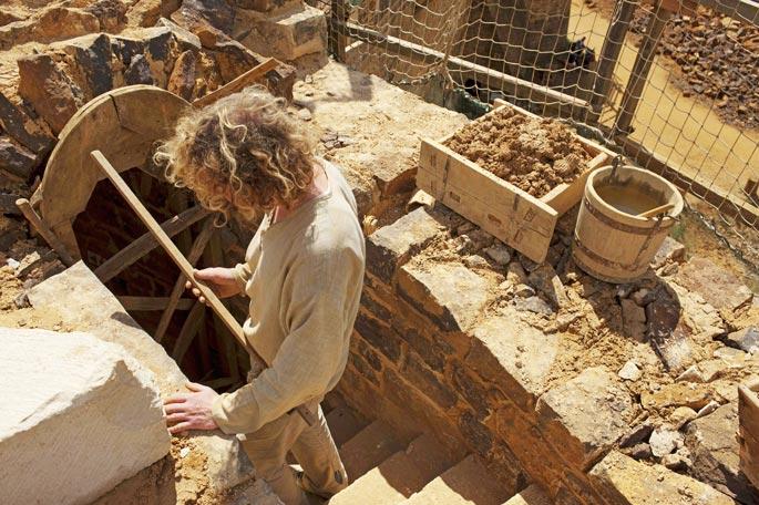 Археологические работы в Бургундии