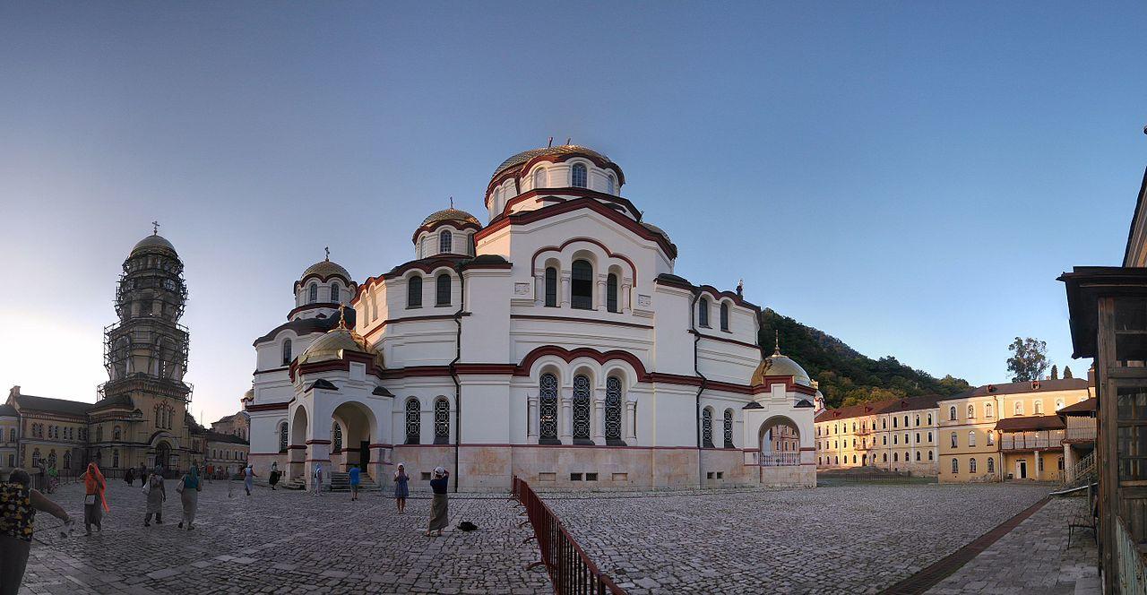 Новоафонский монастырь, панорама