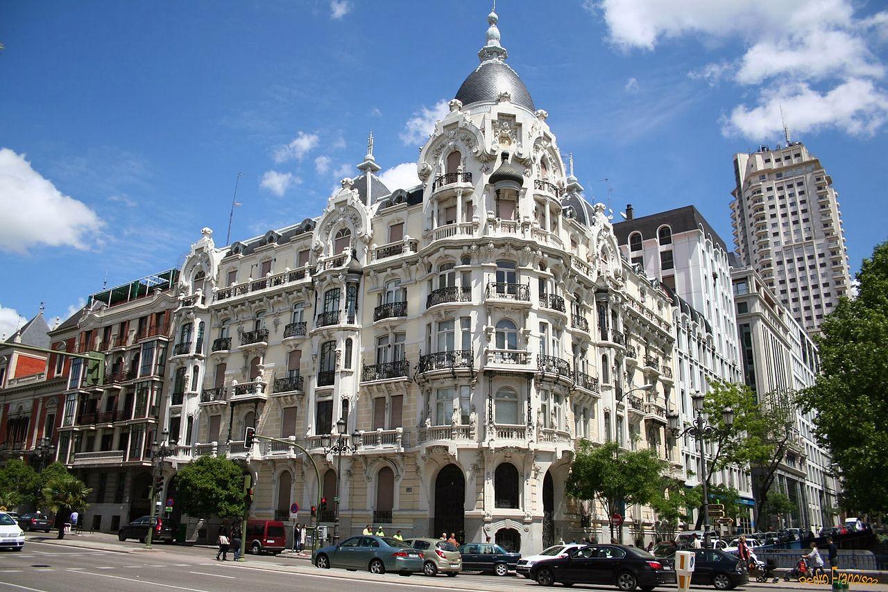 Площадь Испании в Мадриде, дом Гальярдо