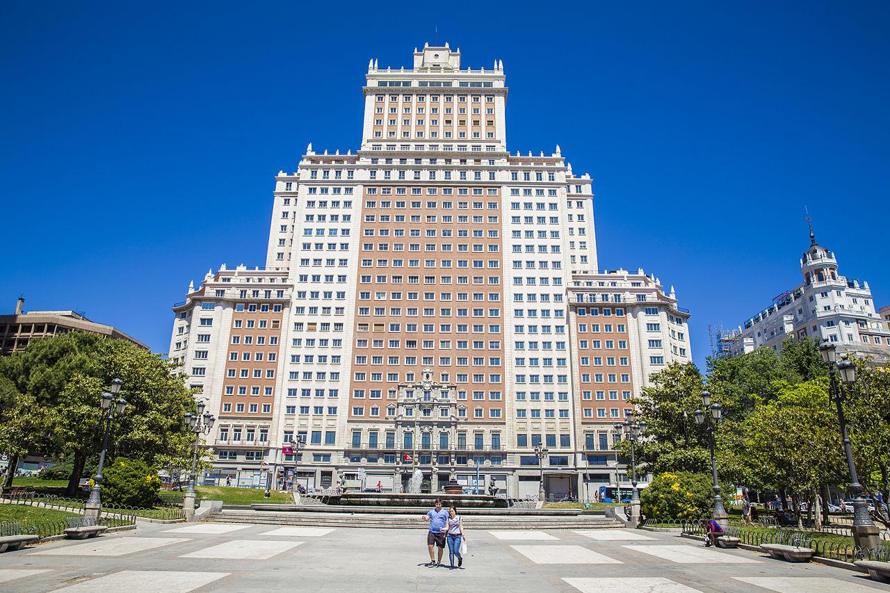 Площадь Испании в Мадриде, здание «Испания»