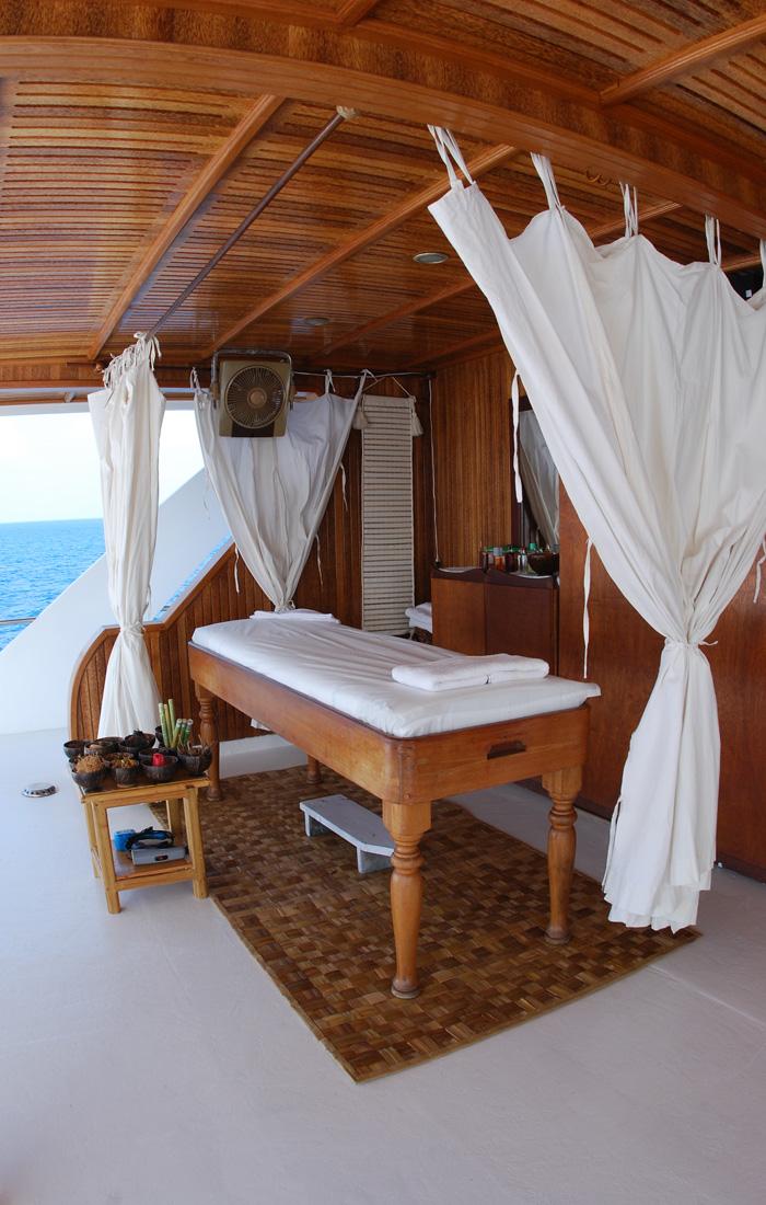 Спа на яхте, Мальдивские острова
