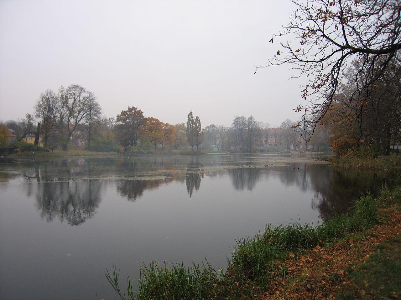 Амалиенау, пруд Близнецов (Цвиллингтайх)