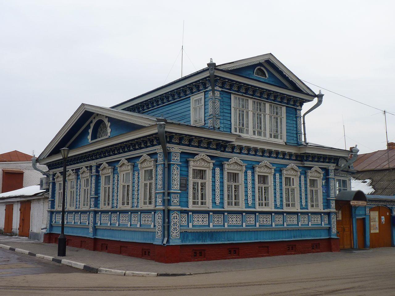 Музей самоваров в Городце, в усадьбе Гришаева