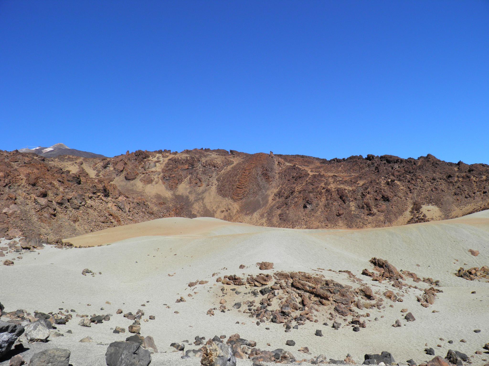 Национальный парк Тейде, марсианский пейзаж