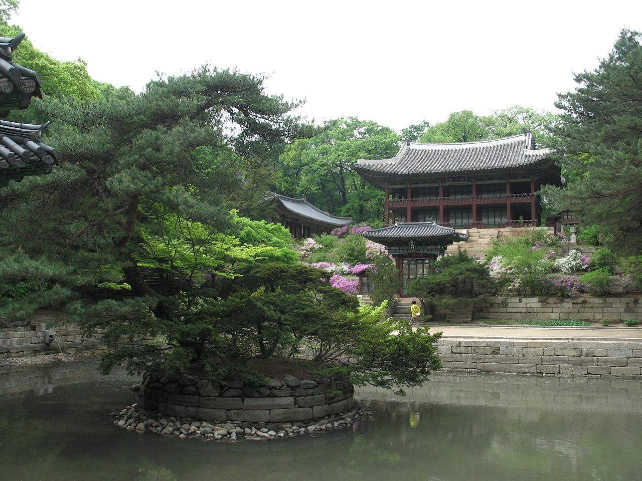Дворец Чхандоккун в Сеуле, павильон Чухамну