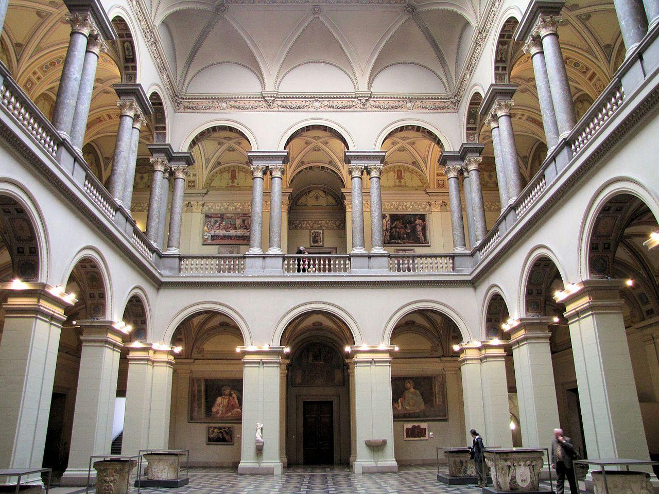 Музей изобразительных искусств в Будапеште, зал Ренессанса