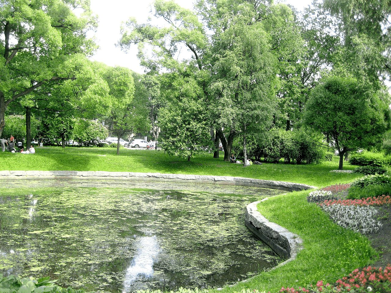 Санкт-Петербург, Александровский парк