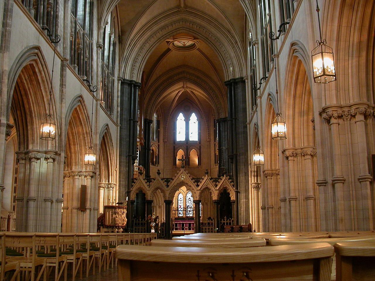 Церковь Крайст-чёрч (собор Церкви Христовой), интерьер