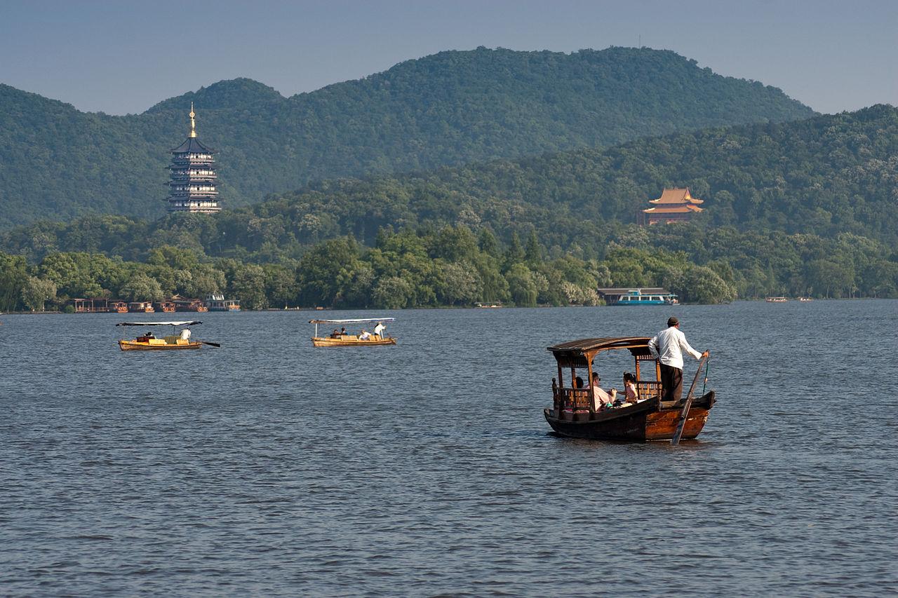 Озеро Сиху, Китай
