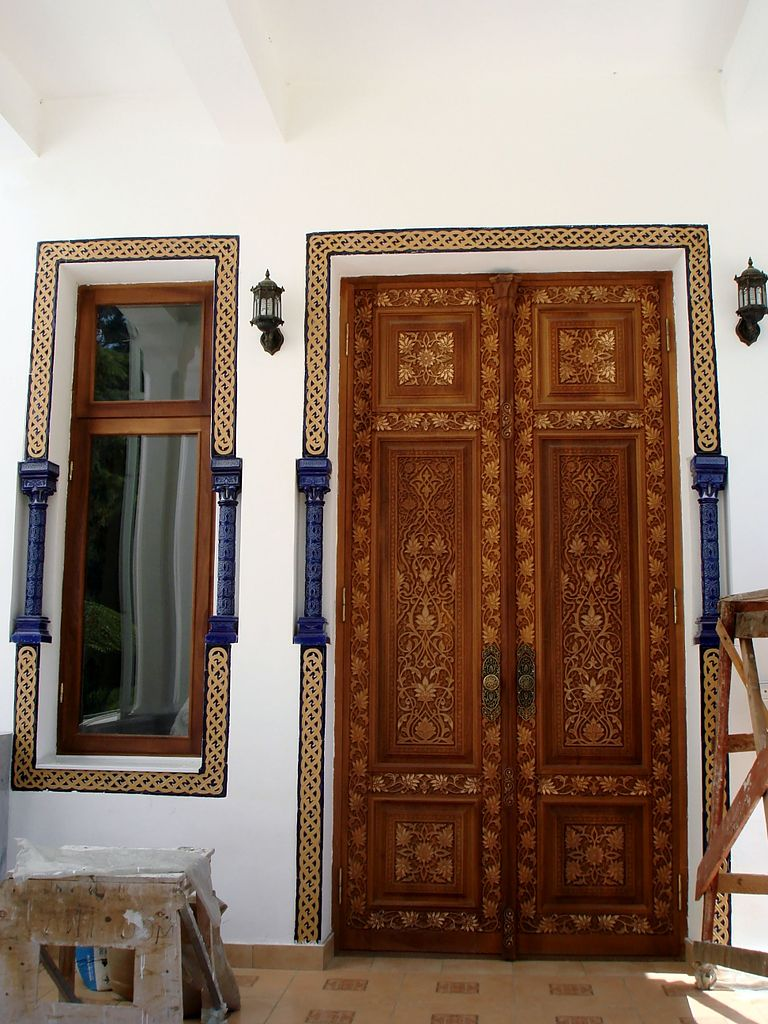 Дворец эмира Бухарского, вход