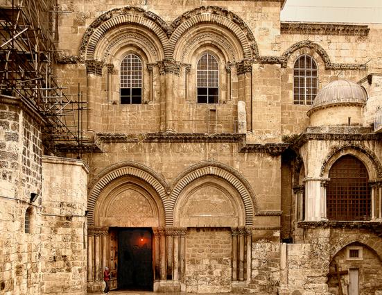 Здание храма Воскресения Христова