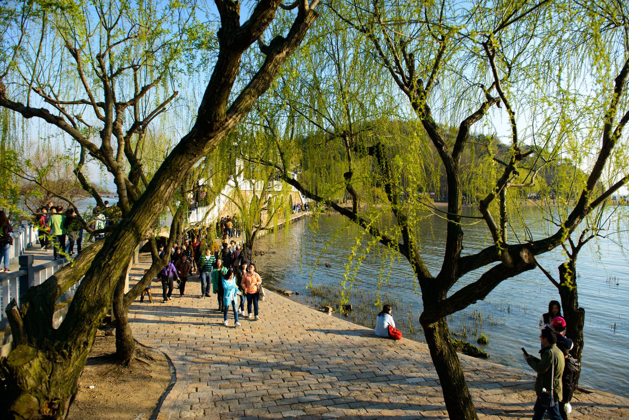 Озеро Тайху, место отдыха