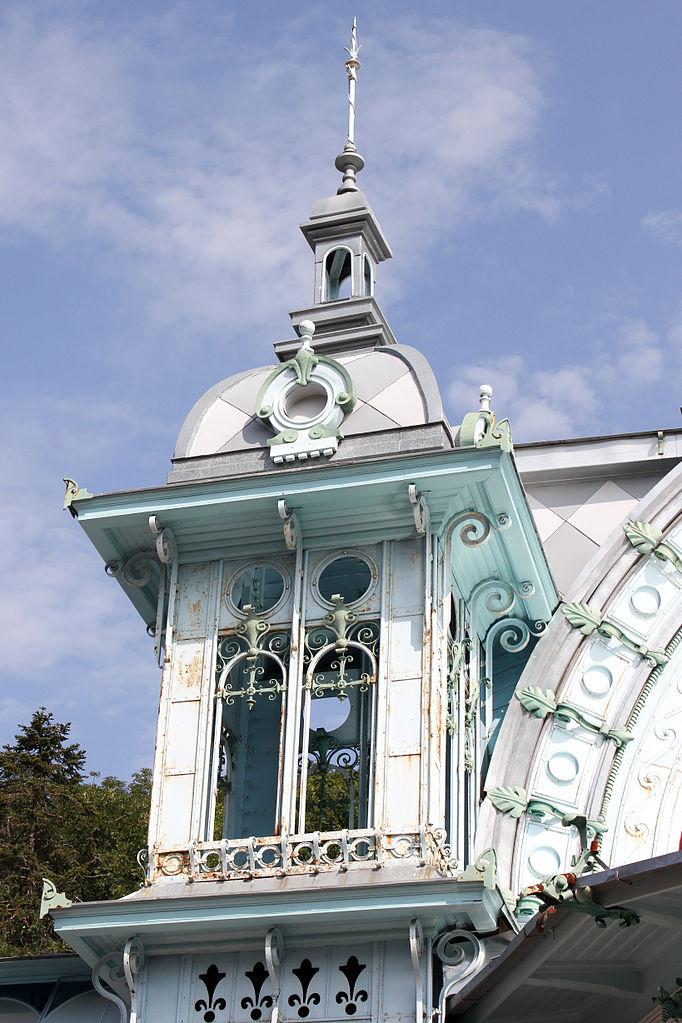 Пушкинская галерея в Железноводске, парк Лечебный