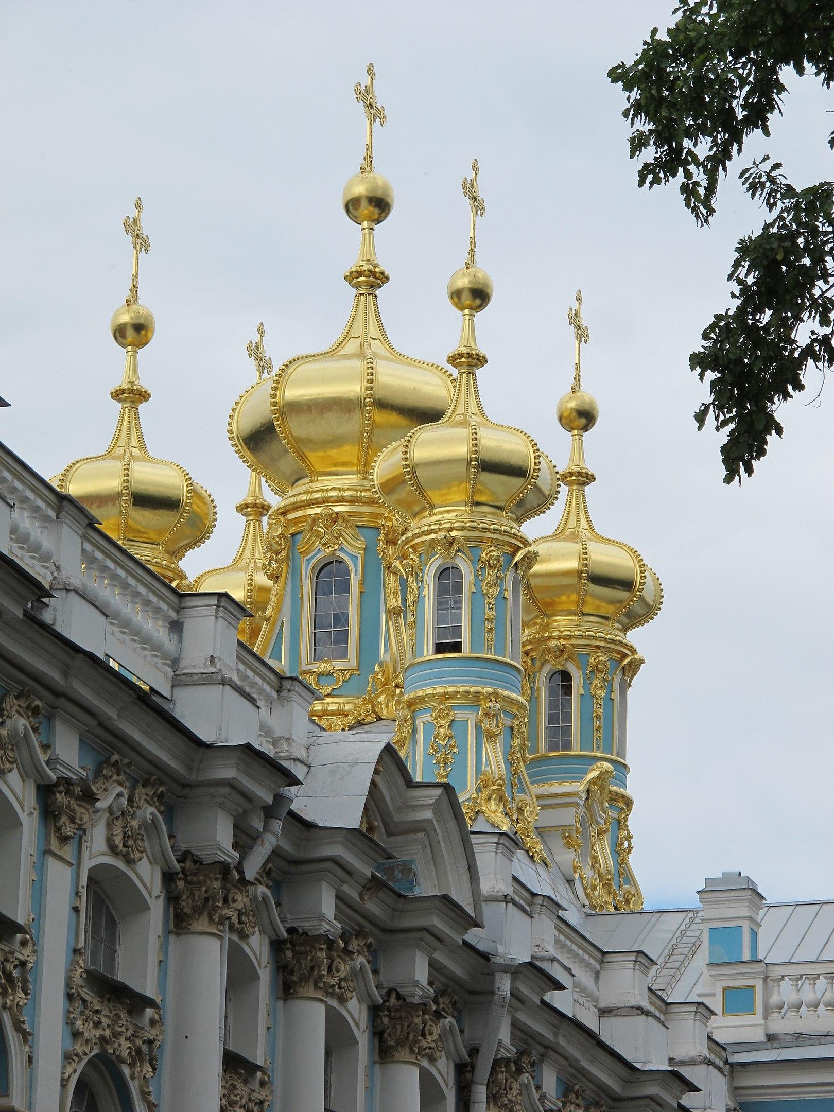 Церковь Екатерининского дворца