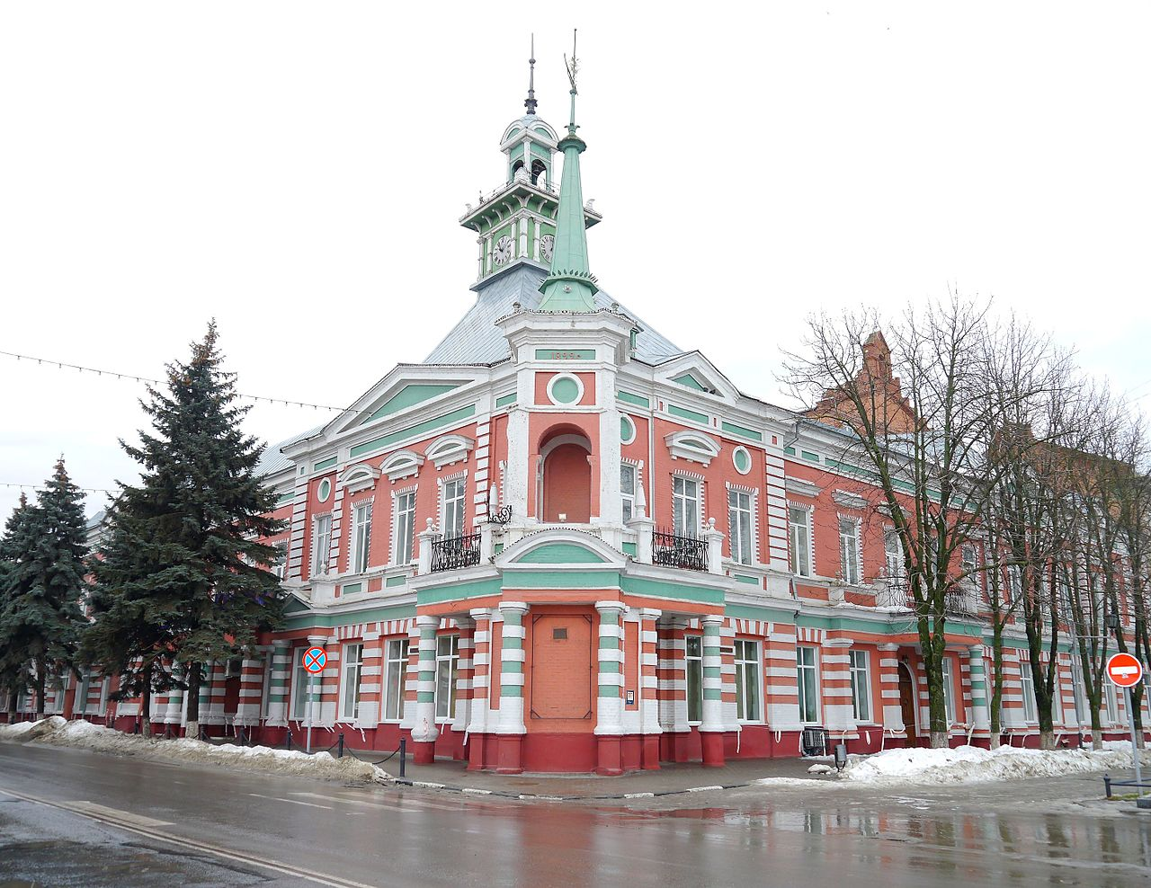 Азовский музей-заповедник, фасад