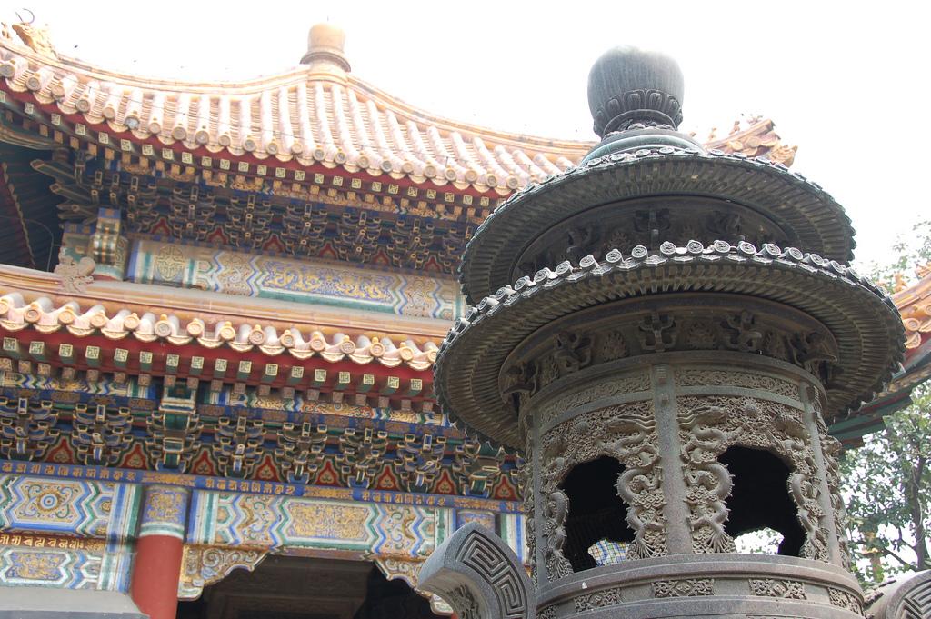 Беседка, Юнхэгун, Пекин