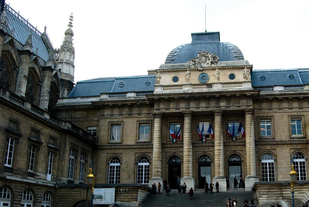 Вход в Сент-Шапель, Париж