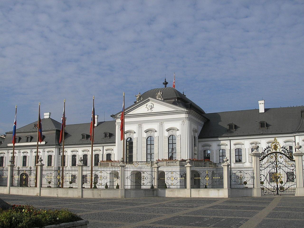 Дворец Грашшалковичей, Братислава