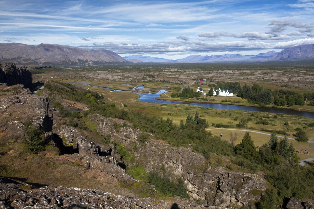 Долина Тингвеллир, Исландия