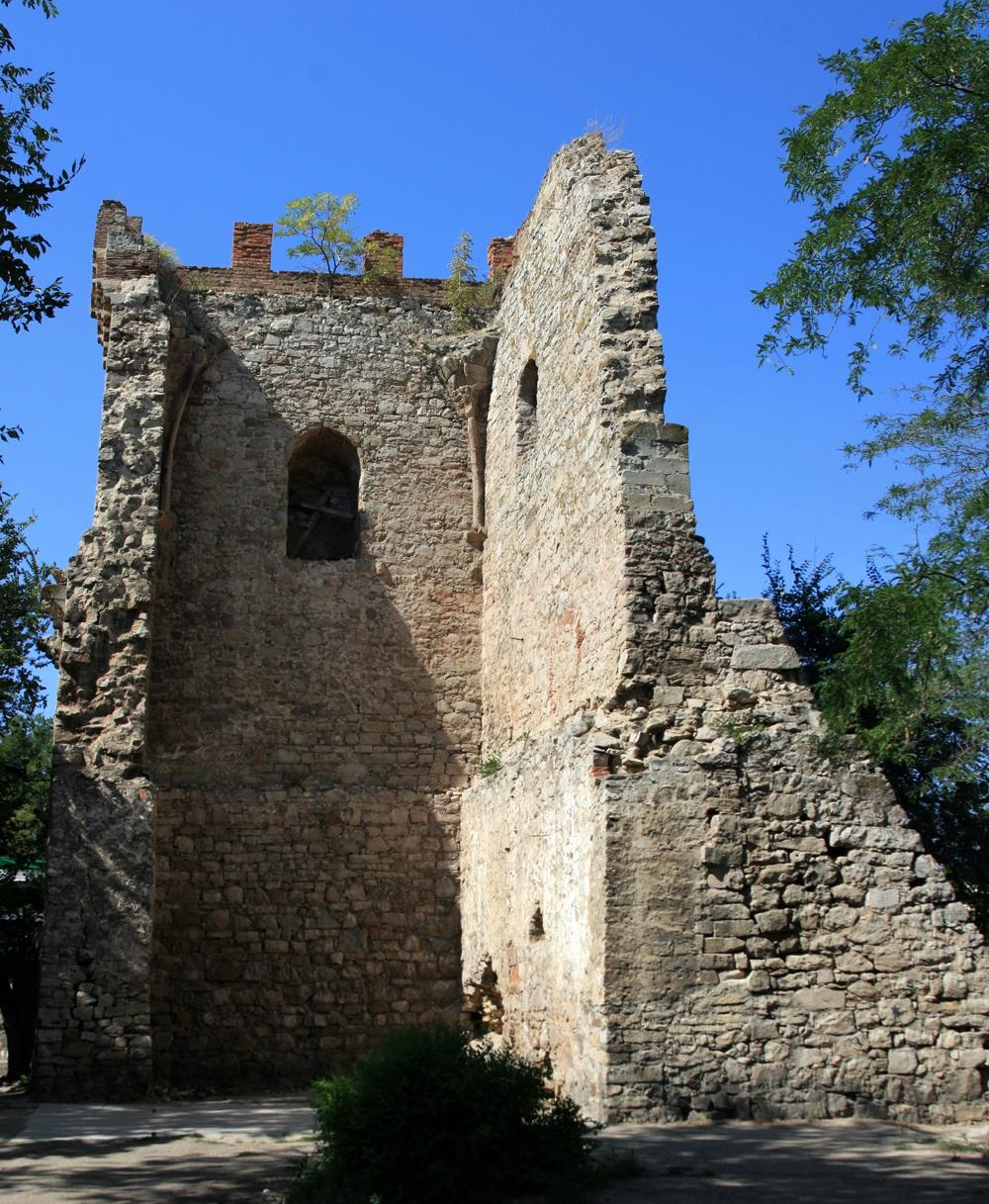 Генуэзская крепость, башня Константина