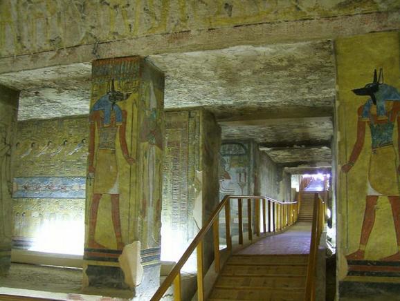 Гробница, Долина Царей, Египет