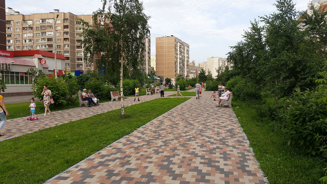 Жулебинский бульвар в Москве