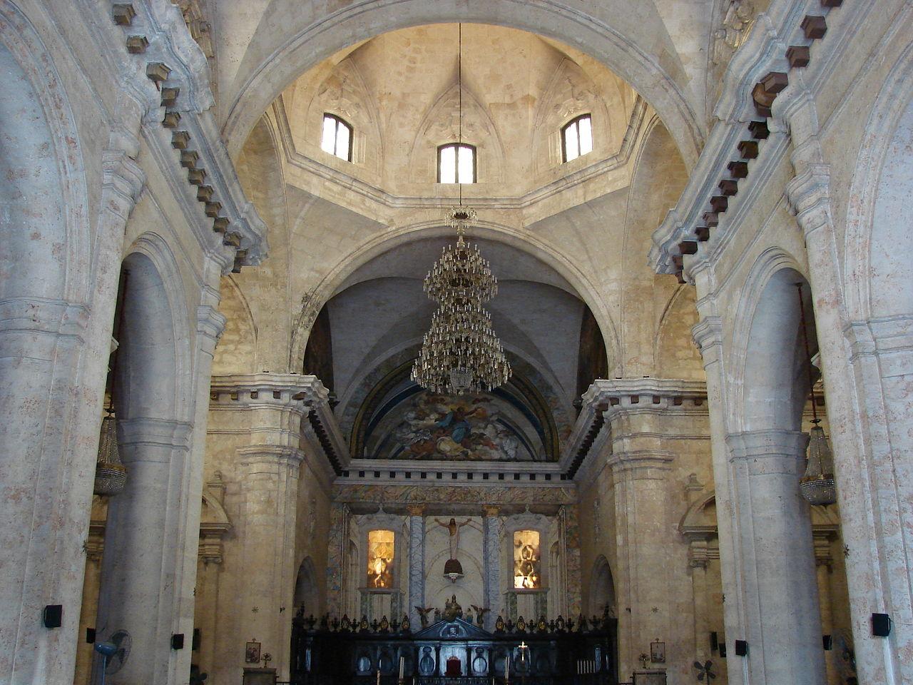Кафедральный собор Гаваны, интерьер