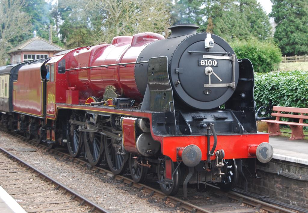 Поезд «Королевский шотландец», станция Крокомб Хитфилд