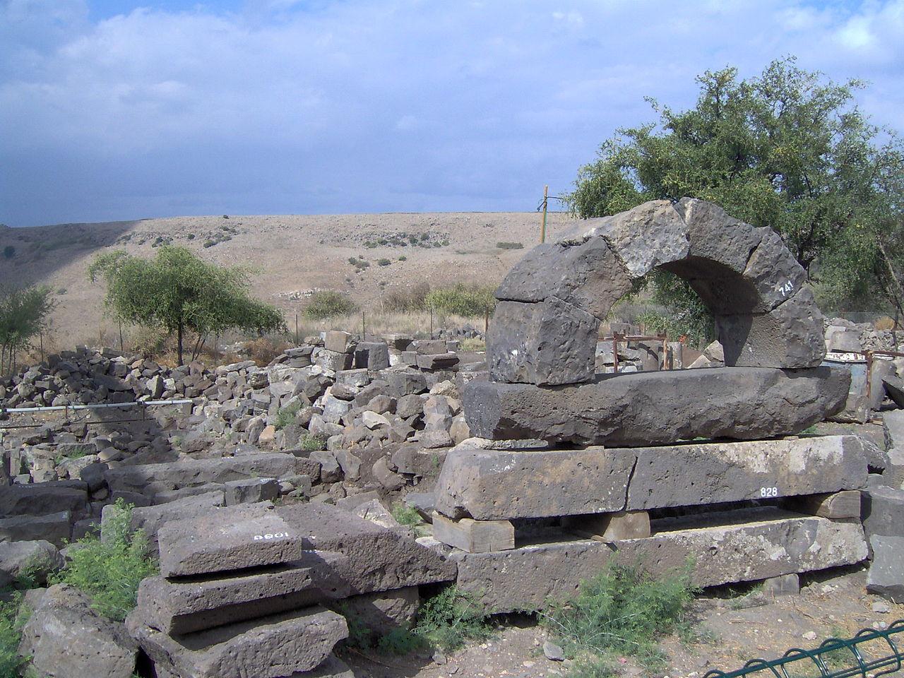 Развалины Ум-эль-Кантир, Голанские высоты