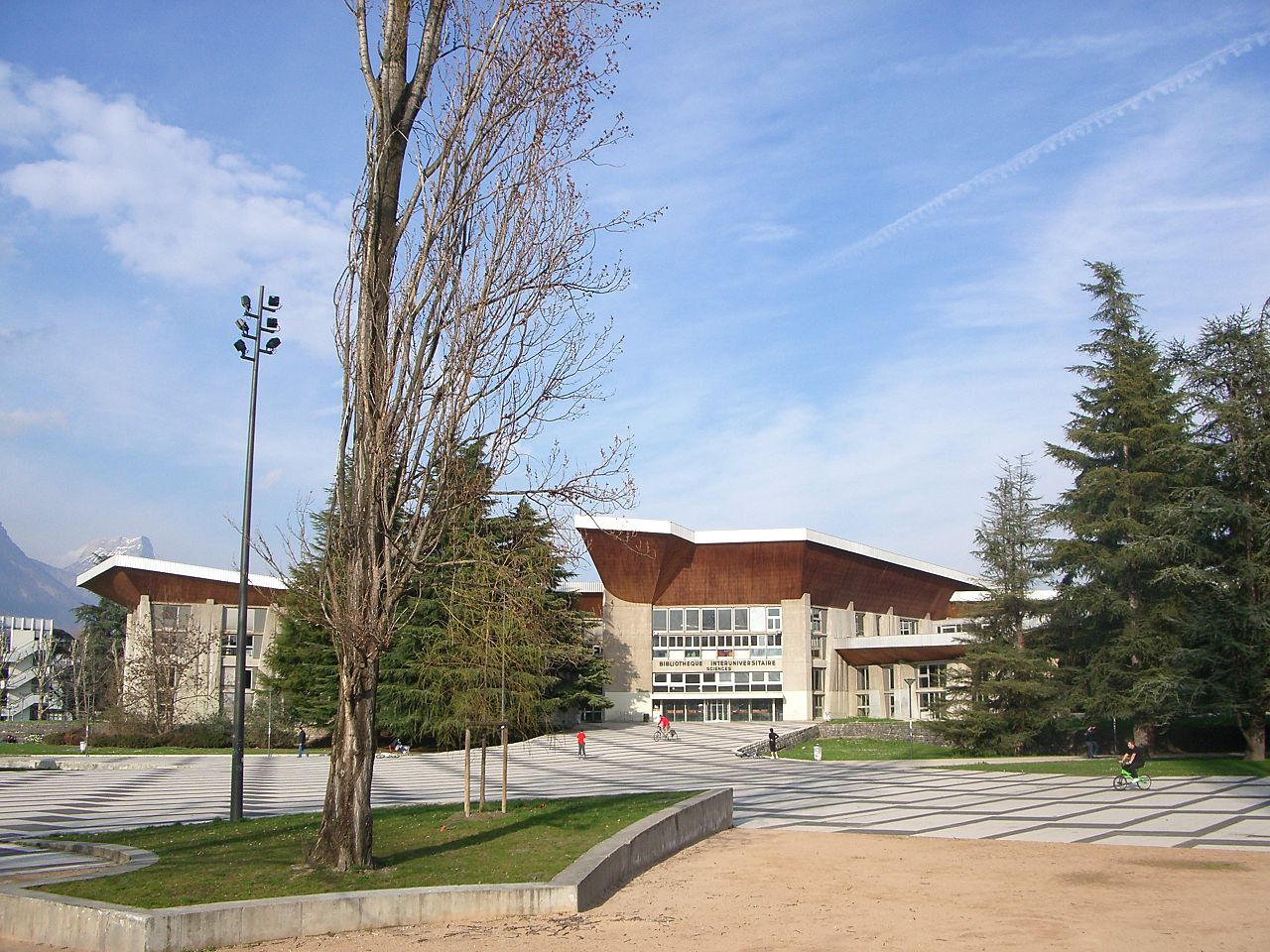 Университет Гренобля, научная библиотека