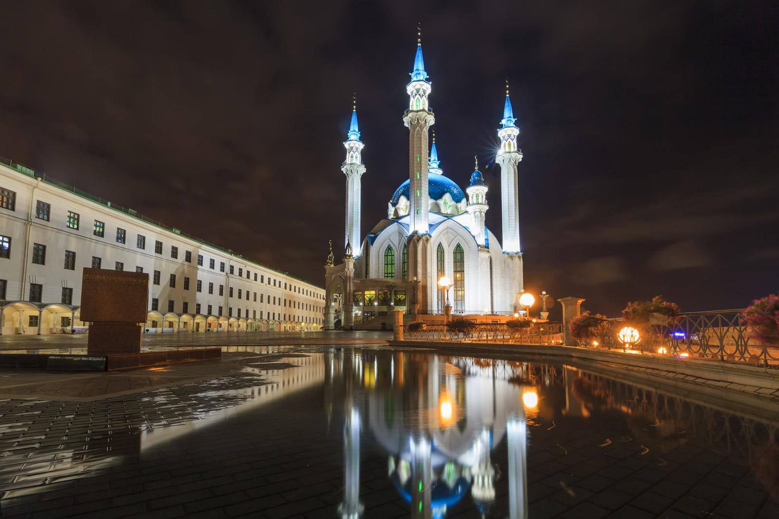 Мечеть Кул-Шариф вечером