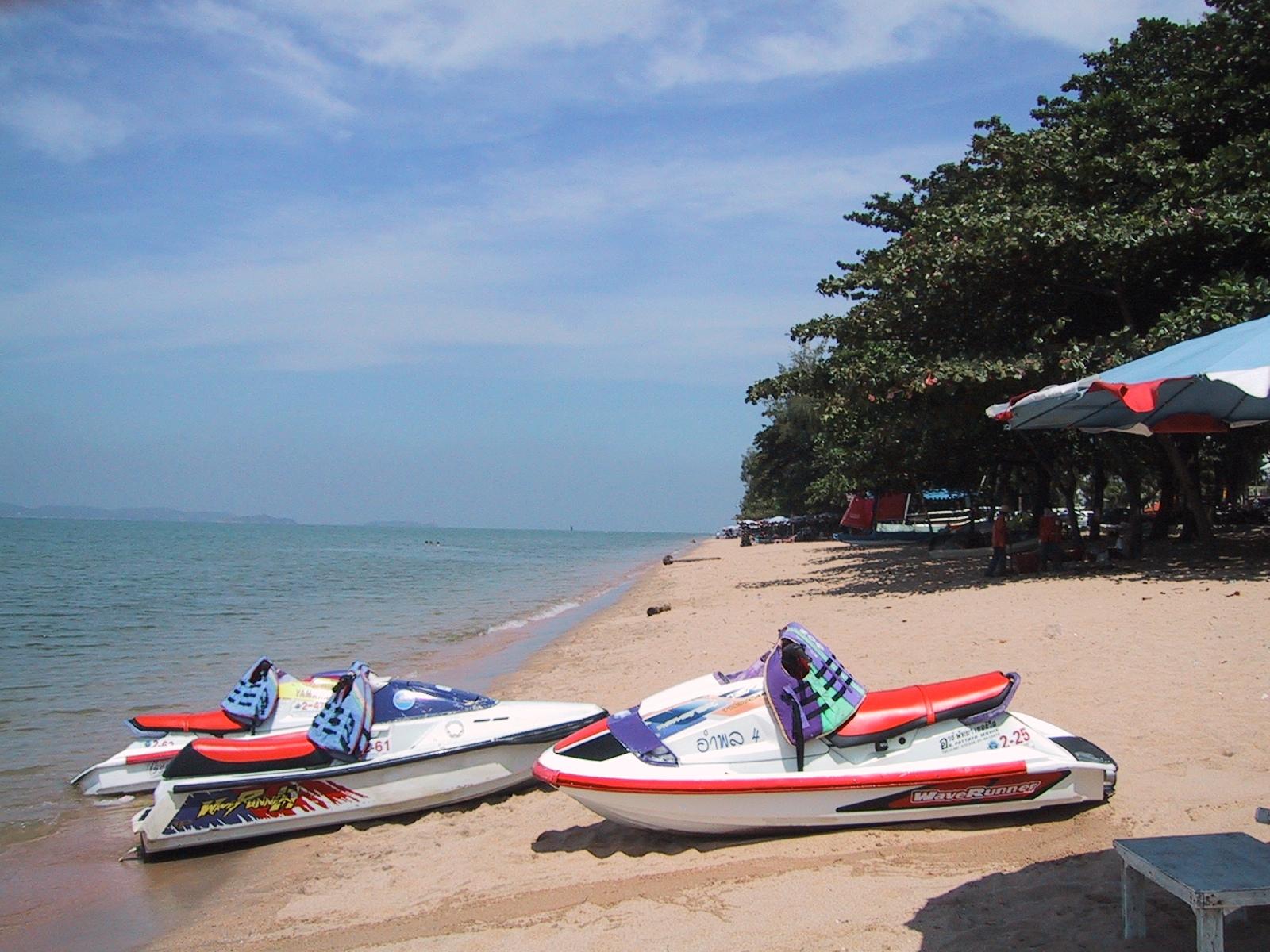 Пляж Джомтьен рядом с Паттайей