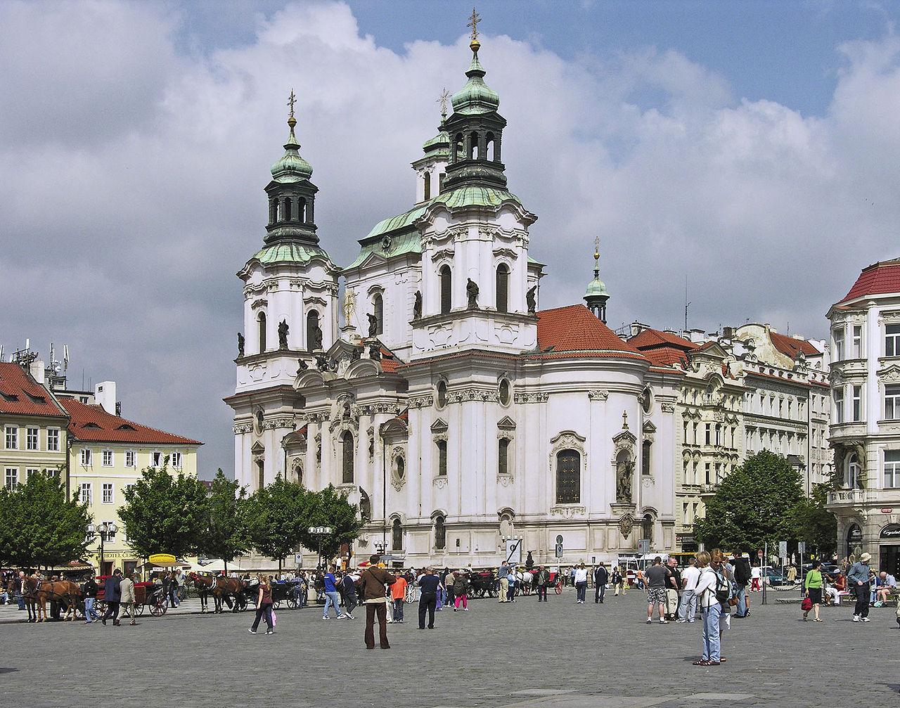 Староместская площадь, церковь Святого Николая